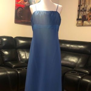 Special occasion dress with train